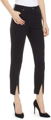 Leith High Waist Split Hem Skinny Jeans