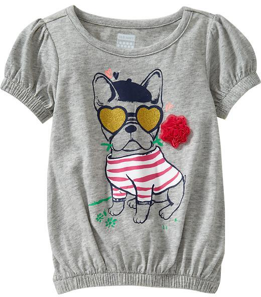 Old Navy Cinch-Waist Graphic Tees for Baby