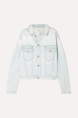 Golden Goose Demi Oversized Denim Jacket - Light denim