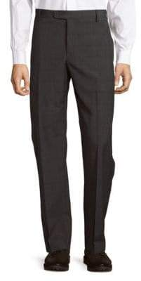 Saks Fifth Avenue Pin Striped Pleated Pants