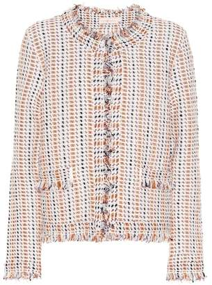 Tory Burch Hollis tweed jacket
