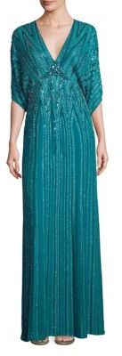 Jenny Packham Sequin Embellished Gown $5,765 thestylecure.com