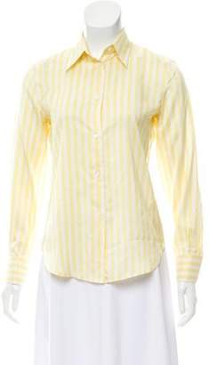 Loro Piana Silk Long Sleeve Top