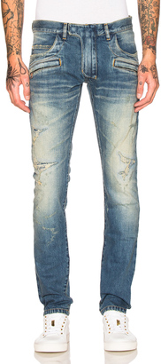 BALMAIN 5 Pocket Jeans $1,785 thestylecure.com