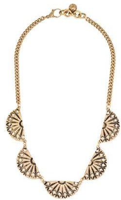 Lulu Frost Crystal Collar Necklace $145 thestylecure.com