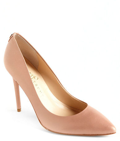 IVANKA TRUMP Kayden Pointed Toe Leather Pumps