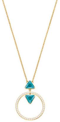 Swarovski Labyrinth Crystal Ring Necklace