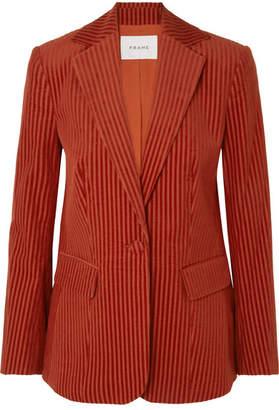 Frame Cotton-corduroy Blazer - Red