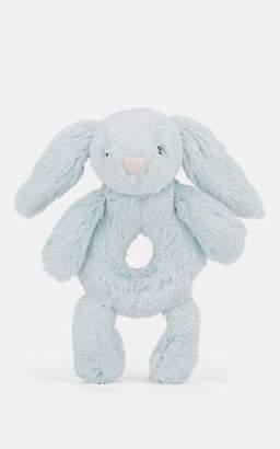 Jellycat Bashful Bunny Ring Rattle - Blue