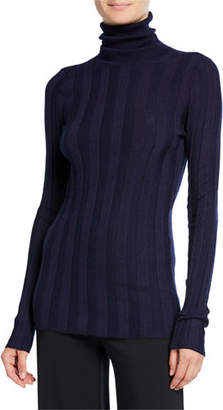 Derek Lam Inez Cashmere-Silk Turtleneck Sweater