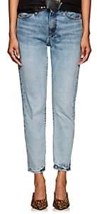 R 13 Women's MILF High-Rise Straight-Leg Jeans - Md. Blue