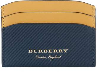 Burberry Izzy Two-Tone Trench Leather Card Holder