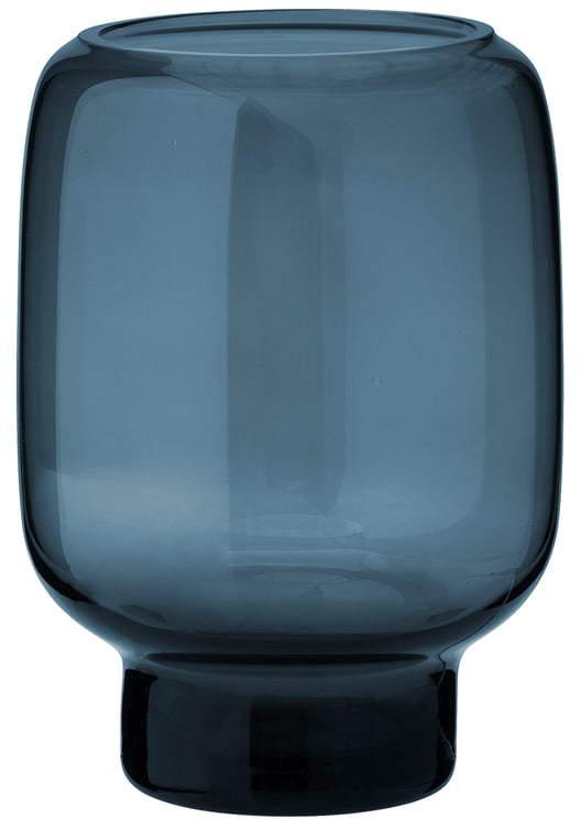 Hoop Vase, H 14 cm, midnight blue