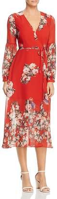 Re:Named Natalia Floral Wrap Dress $98 thestylecure.com