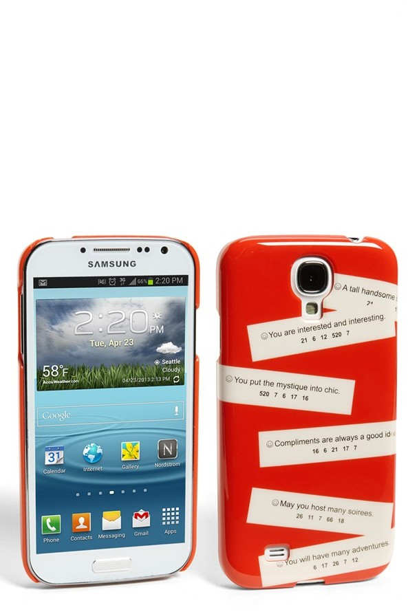 Kate Spade 'fortunes' Samsung Galaxy S® 4 case