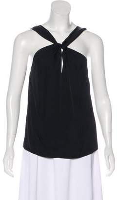Rag & Bone Sleeveless Knot-Accented Top w/ Tags