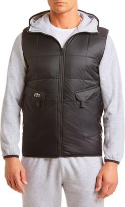 Lacoste Sport Reversible Hooded Jacket