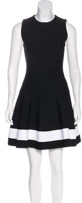 Victoria Beckham Knit Flared Dress