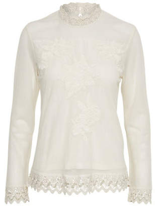 Cream Jolannie Cotton Blouse