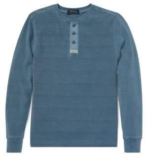 Ralph Lauren Childrenswear Boy's Knitted Basic Cotton Sweater