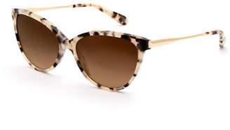 Cat Eye KREWE Monroe Gradient Cat-Eye Sunglasses