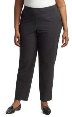Lafayette 148 New York, Plus Size Fulton Smooth Front Pants