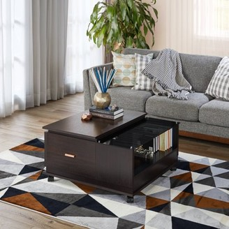 Furniture of America Ozhon Contemporary Espresso Coffee Table