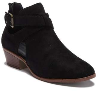 Wild Diva Lounge Manny Cutout Ankle Bootie