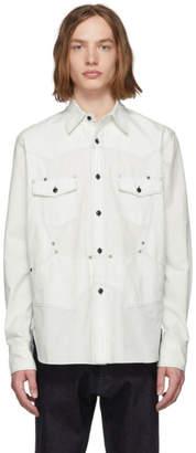 Off-White Fumito Ganryu Denim Six Pockets Rebuilt Shirt
