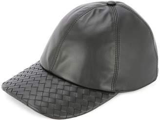 Bottega Veneta leather cap