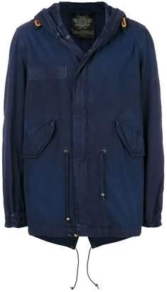 Mr & Mrs Italy classic midi parka coat