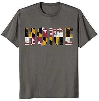 Maryland Flag Home T-Shirt