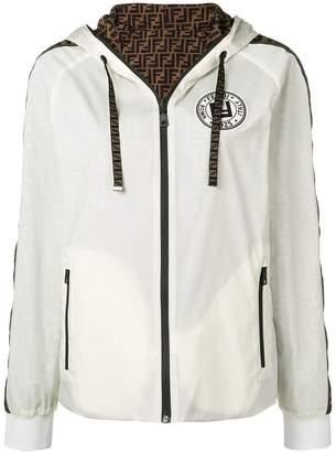 Fendi FF logo reversible jacket
