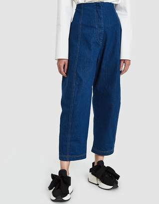 Creatures of Comfort Crescent Pant in Blue Denim