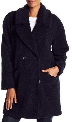 Lucky Brand Missy Teddy Bear Faux Fur Jacket