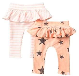 Rosie Pope 2-Pack Ruffle Leggings (Baby Girls)