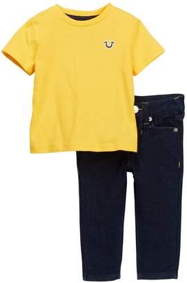 True Religion Tee & Jeans Set (Baby Boys)