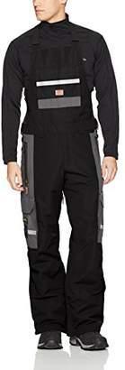 DC Men's Platoon 15k Water Proof Snow Pant Bib Overalls