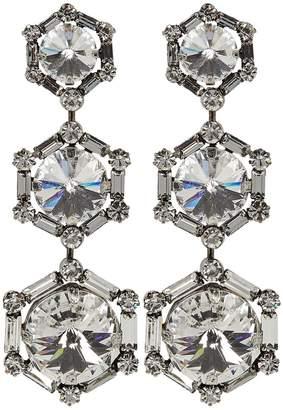 Dannijo Bells Crystal Drop Earrings
