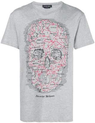 Alexander McQueen skull logo T-shirt