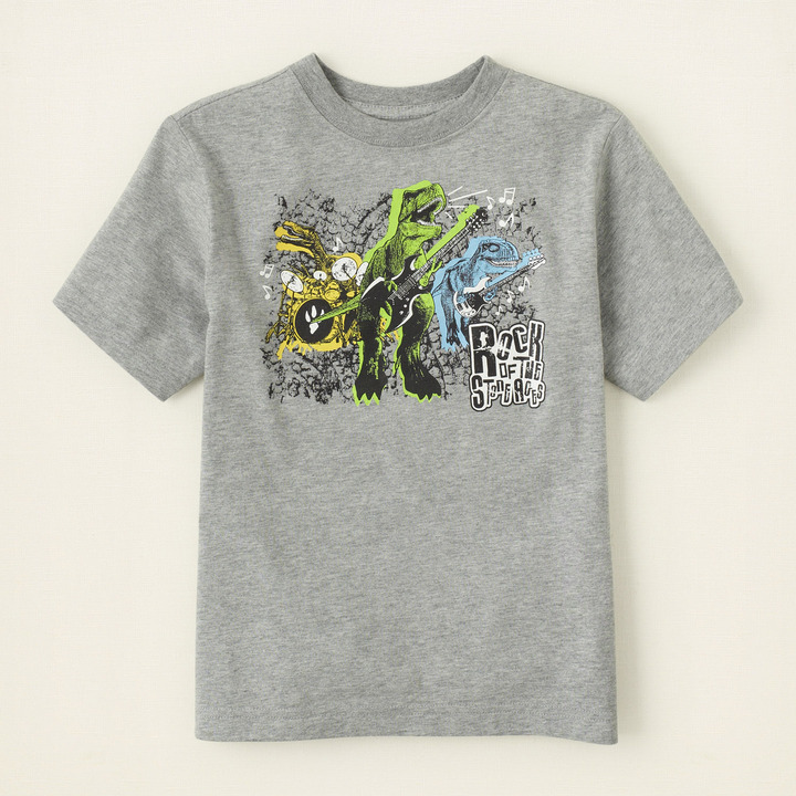 Children's Place Rock ages graphic tee