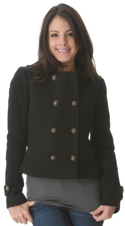 Alpha Industries Cropped Pea Coat