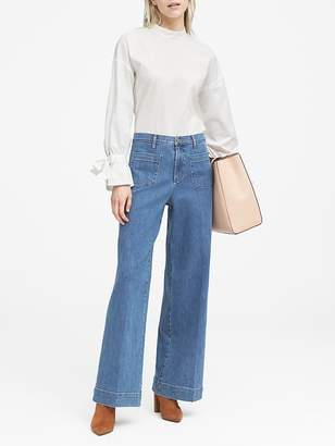 Banana Republic JAPAN ONLINE EXCLUSIVE High-Rise Wide-Leg Jean
