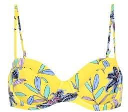 Diane von Furstenberg Floral bikini top