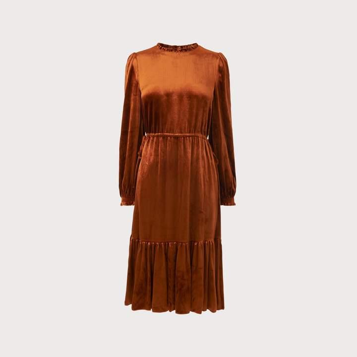 Noemi Rust Dress