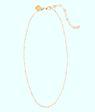 Lilly Pulitzer Charm Bar Short Ball Chain