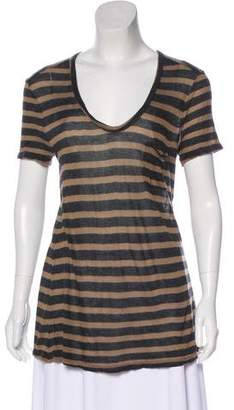 Alexander Wang Stripe Knit Top