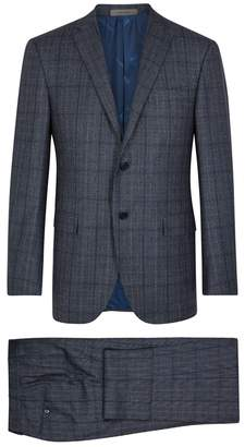 Corneliani Checked Wool Suit