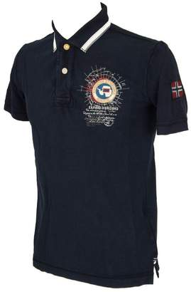 Napapijri Men's Pique Gandy Polo Shirt M Marine