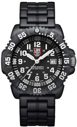 Luminox Men's 3052 Colormark Navy Seal Analog Display Analog Quartz Black Watch